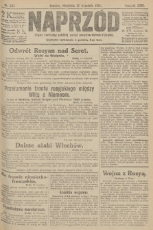Naprzód : organ centralny polskiej partyi socyalno-demokratycznej. 1915, nr 337