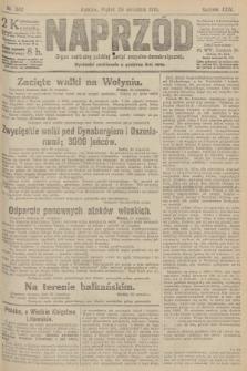 Naprzód : organ centralny polskiej partyi socyalno-demokratycznej. 1915, nr 342