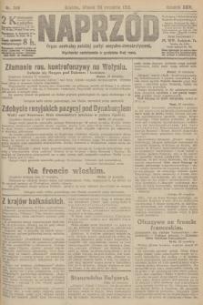 Naprzód : organ centralny polskiej partyi socyalno-demokratycznej. 1915, nr 346