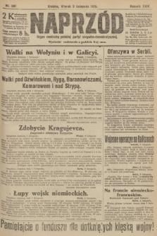 Naprzód : organ centralny polskiej partyi socyalno-demokratycznej. 1915, nr 381