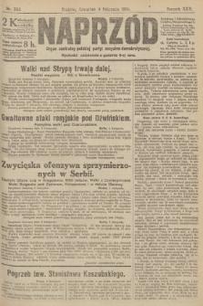 Naprzód : organ centralny polskiej partyi socyalno-demokratycznej. 1915, nr 383