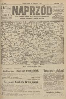 Naprzód : organ centralny polskiej partyi socyalno-demokratycznej. 1915, nr 393