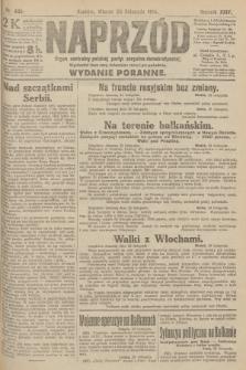 Naprzód : organ centralny polskiej partyi socyalno-demokratycznej. 1915, nr 409 (wydanie poranne)