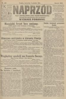Naprzód : organ centralny polskiej partyi socyalno-demokratycznej. 1915, nr 426 (wydanie poranne)
