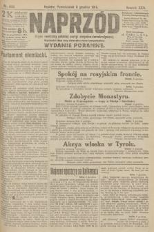 Naprzód : organ centralny polskiej partyi socyalno-demokratycznej. 1915, nr 433 (wydanie poranne)