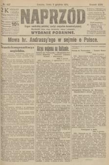 Naprzód : organ centralny polskiej partyi socyalno-demokratycznej. 1915, nr 437 (wydanie poranne)
