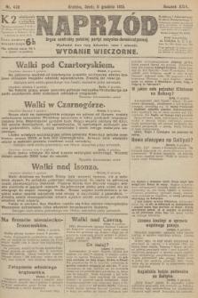 Naprzód : organ centralny polskiej partyi socyalno-demokratycznej. 1915, nr 438 (wydanie wieczorne)
