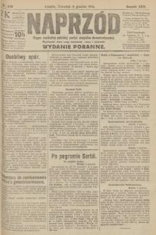 Naprzód : organ centralny polskiej partyi socyalno-demokratycznej. 1915, nr 439 (wydanie poranne)
