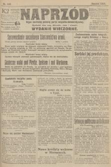 Naprzód : organ centralny polskiej partyi socyalno-demokratycznej. 1915, nr 440 (wydanie wieczorne)