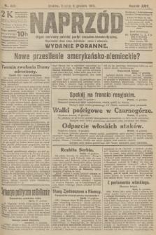 Naprzód : organ centralny polskiej partyi socyalno-demokratycznej. 1915, nr 443 (wydanie poranne)