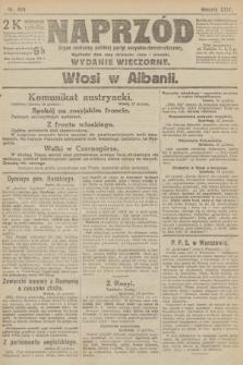 Naprzód : organ centralny polskiej partyi socyalno-demokratycznej. 1915, nr 466 (wydanie wieczorne)