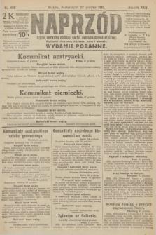 Naprzód : organ centralny polskiej partyi socyalno-demokratycznej. 1915, nr 468 (wydanie poranne)