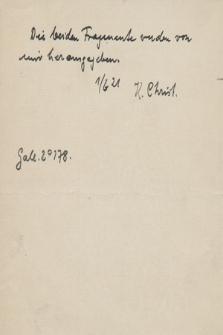 Berol. Ms. Gall. Fol. 178