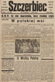 Szczerbiec : pismo Obozu Narodowo-Radykalnego. 1934, nr10a (nakład drugi po konfiskacie)