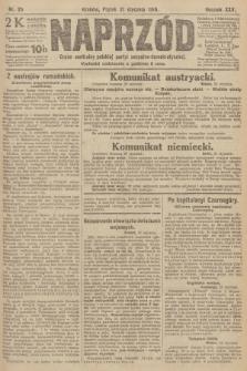 Naprzód : organ centralny polskiej partyi socyalno-demokratycznej. 1916, nr25