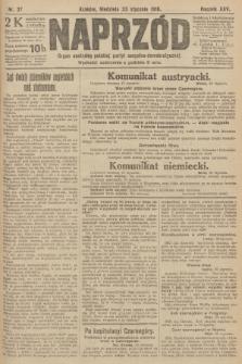 Naprzód : organ centralny polskiej partyi socyalno-demokratycznej. 1916, nr27