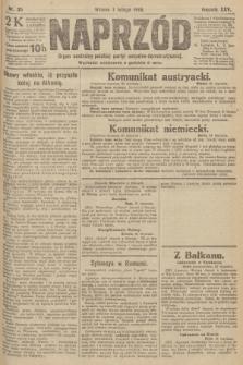 Naprzód : organ centralny polskiej partyi socyalno-demokratycznej. 1916, nr35
