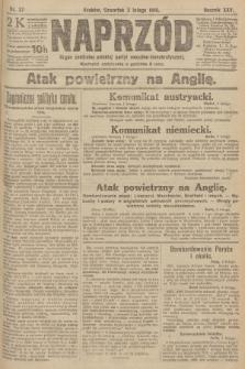 Naprzód : organ centralny polskiej partyi socyalno-demokratycznej. 1916, nr37