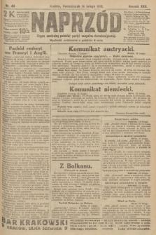 Naprzód : organ centralny polskiej partyi socyalno-demokratycznej. 1916, nr48