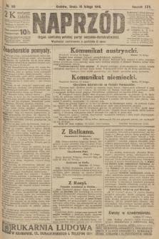 Naprzód : organ centralny polskiej partyi socyalno-demokratycznej. 1916, nr50
