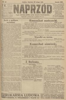 Naprzód : organ centralny polskiej partyi socyalno-demokratycznej. 1916, nr54