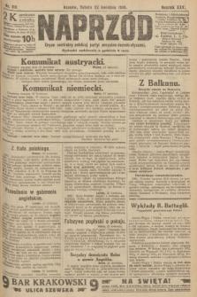 Naprzód : organ centralny polskiej partyi socyalno-demokratycznej. 1916, nr115