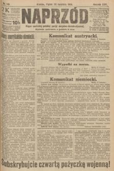 Naprzód : organ centralny polskiej partyi socyalno-demokratycznej. 1916, nr119