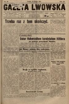 Gazeta Lwowska. 1932, nr40