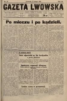 Gazeta Lwowska. 1932, nr42