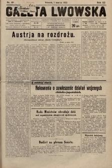 Gazeta Lwowska. 1932, nr49