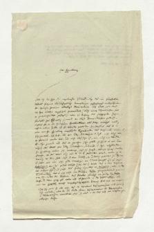 Brief von August Böckh an Alexander von Humboldt