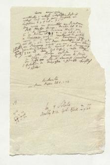 Croix americains (Manuskripttitel)