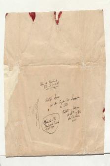 Umschlag der Materialsammlung über die Ausgaben der Geographie des Ptolemäus (Ansetzungssachtitel von Bearbeiter/in)