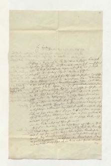 Brief von Gustav Kramer an Alexander von Humboldt