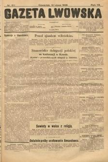 Gazeta Lwowska. 1928, nr157