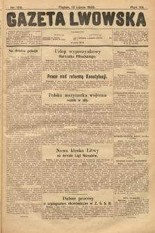 Gazeta Lwowska. 1928, nr158