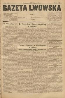 Gazeta Lwowska. 1928, nr166
