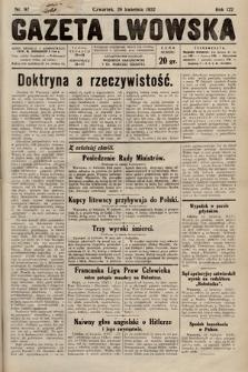 Gazeta Lwowska. 1932, nr97
