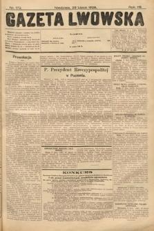 Gazeta Lwowska. 1928, nr172