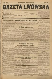 Gazeta Lwowska. 1928, nr204