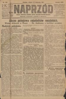 Naprzód : organ centralny polskiej partyi socyalno-demokratycznej. 1917, nr261