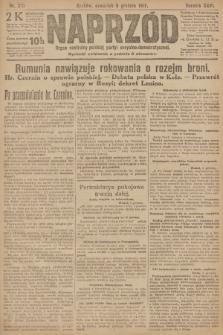 Naprzód : organ centralny polskiej partyi socyalno-demokratycznej. 1917, nr281