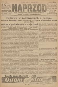 Naprzód : organ centralny polskiej partyi socyalno-demokratycznej. 1917, nr285