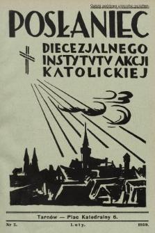 Posłaniec Diecezjalnego Instytutu Akcji Katolickiej. 1939, nr2