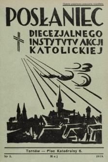 Posłaniec Diecezjalnego Instytutu Akcji Katolickiej. 1939, nr5