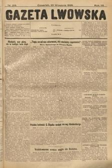 Gazeta Lwowska. 1928, nr216