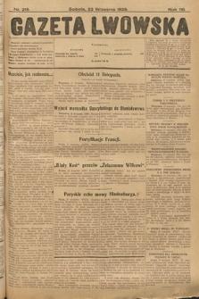 Gazeta Lwowska. 1928, nr218