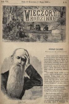 Wieczory Rodzinne : tygodnik illustrowany dla dzieci. R. 7, 1886, nr18