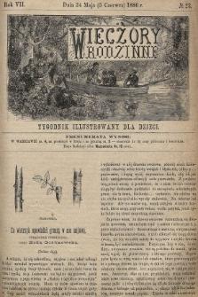 Wieczory Rodzinne : tygodnik illustrowany dla dzieci. R. 7, 1886, nr23
