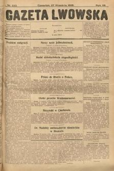 Gazeta Lwowska. 1928, nr222